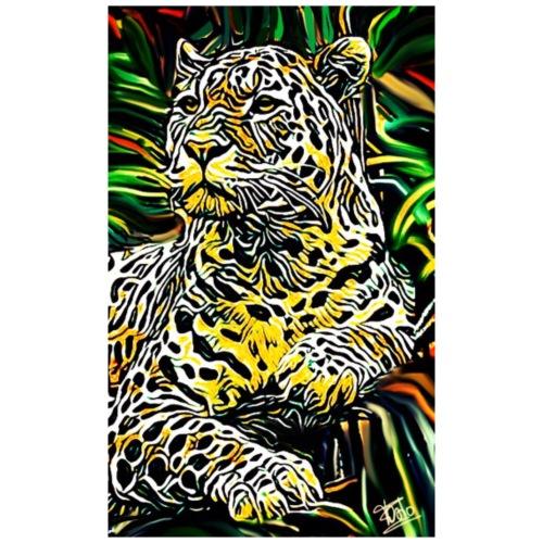 Giaguaro - Maglietta Premium da uomo