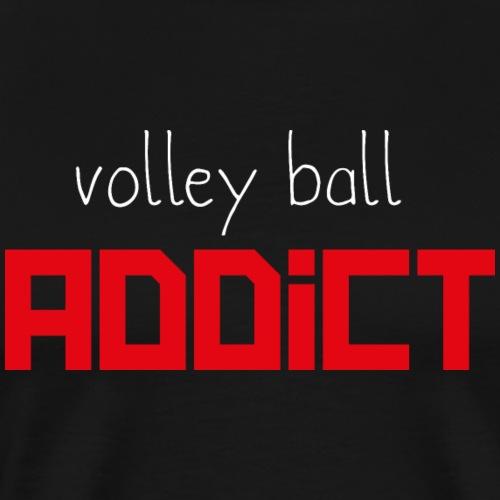 Volley ball addict - T-shirt Premium Homme