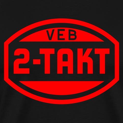 VEB 2-Takt Logo (1c) - Men's Premium T-Shirt