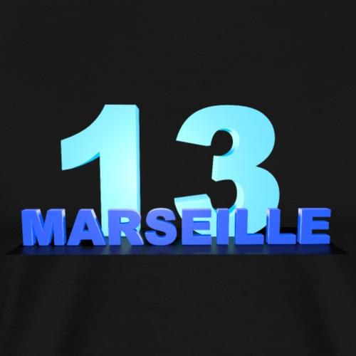 MARSEILLE 13 - T-shirt Premium Homme