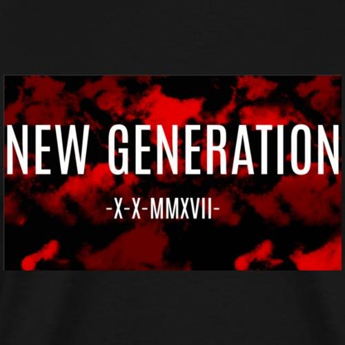 Logo New Generation - Männer Premium T-Shirt