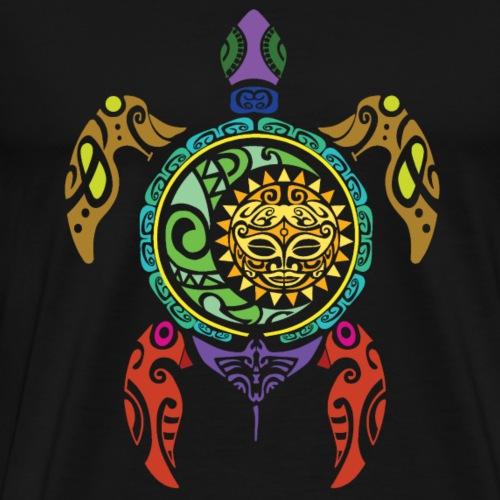 tortue maori - T-shirt Premium Homme