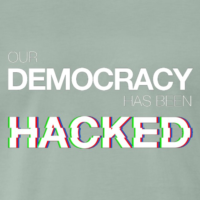 Cup Our Democracy Has Been Hacked #mr.robot
