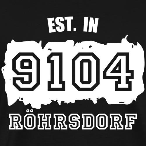 Established 9104 Röhrsdorf - Männer Premium T-Shirt