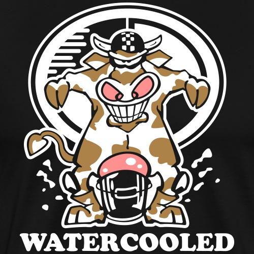 Watercooled Cow   Boxer - Männer Premium T-Shirt