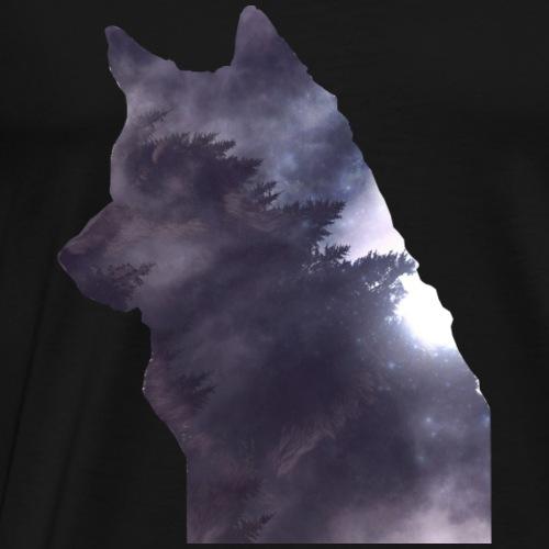 Wolf Forest - Männer Premium T-Shirt