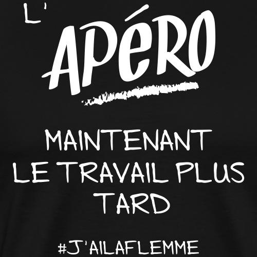 L'APÉRO - T-shirt Premium Homme