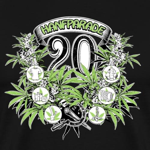 Hanfparade 2016 Motiv 20 Jubiläum - Männer Premium T-Shirt