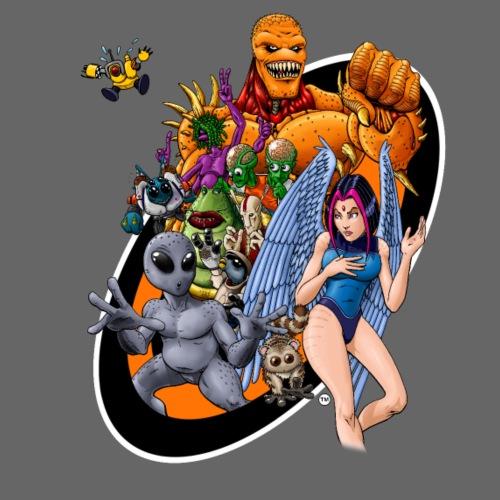 Startopia Character Emblem - Men's Premium T-Shirt