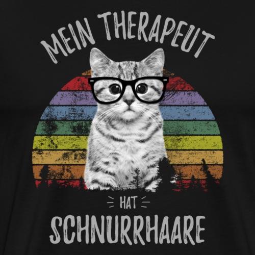 Therapeut Katze - Männer Premium T-Shirt