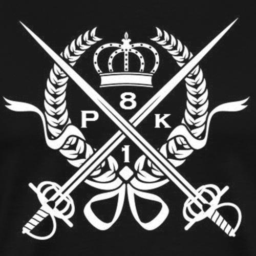 Support PK81 White - Premium-T-shirt herr