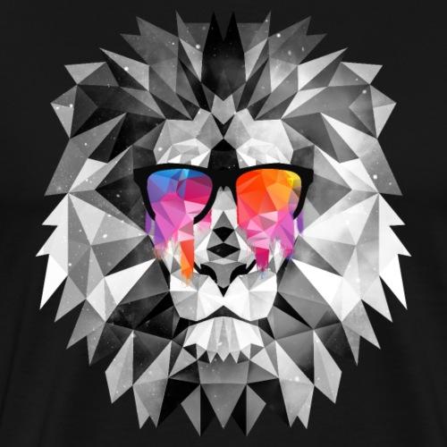 Cooler Löwe mit Sonnenbrille