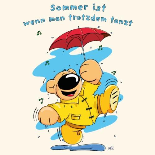 Sommer ist wenn man trotzdem tanzt - Männer Premium T-Shirt