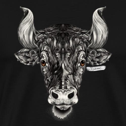 Stier Sternzeichen - Männer Premium T-Shirt