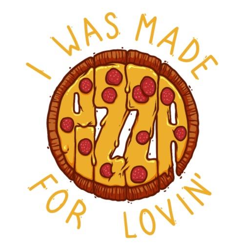 PIZZA LOVER - Koszulka męska Premium
