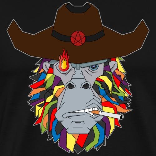 """Hast du Feuer?"" - Männer Premium T-Shirt"