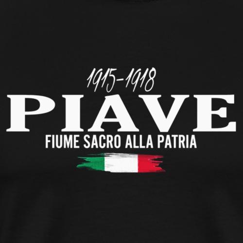 Piave: fiume sacro alla Patria - Maglietta Premium da uomo