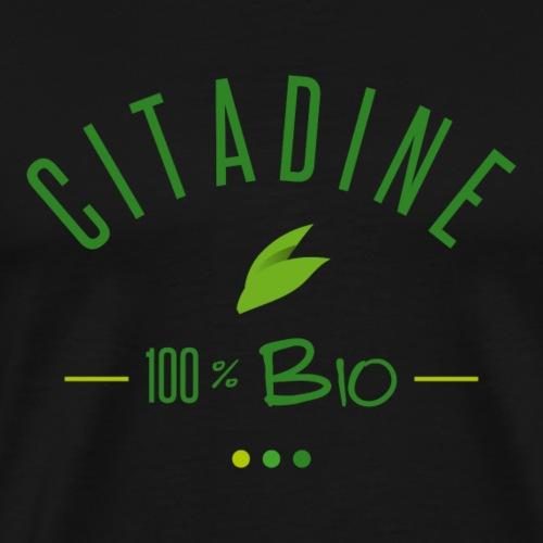 Citadine 100 % BIO - T-shirt Premium Homme