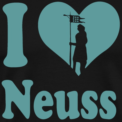 I love Neuss - Männer Premium T-Shirt