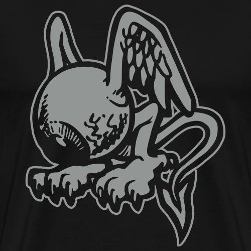 Eyescream - outline - Premium-T-shirt herr