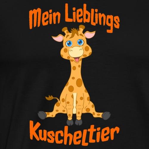 Baby Giraffe Mein Lieblings Kuscheltier Comicstyle