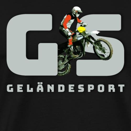 Geländesport DDR Motocross GS GE GT ETZ 250 - Männer Premium T-Shirt