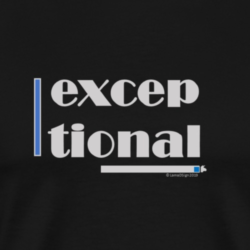 Exceptional Blue - Men's Premium T-Shirt