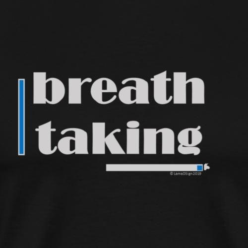 Breathtaking Blue - Men's Premium T-Shirt