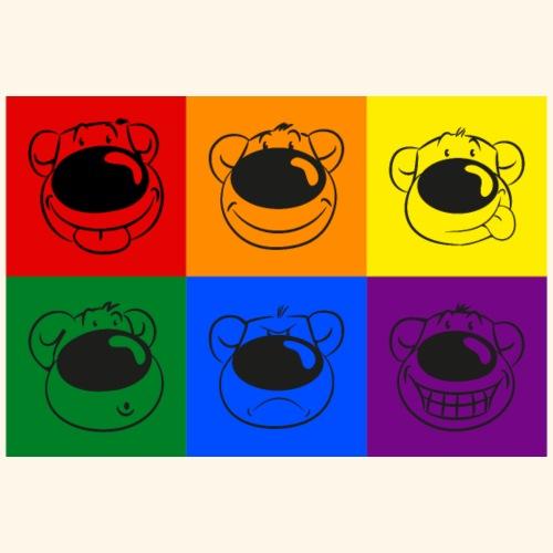 chris bears Regenbogen Bären - Männer Premium T-Shirt