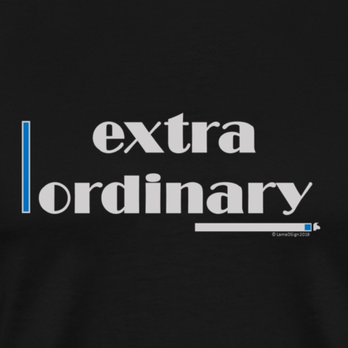 Extraordinary Blue - Men's Premium T-Shirt