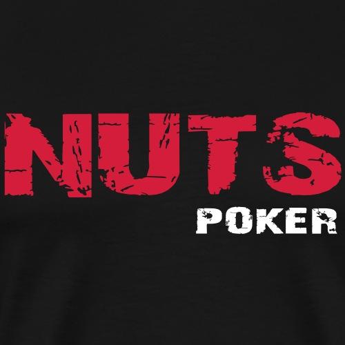 nuts_poker - T-shirt Premium Homme
