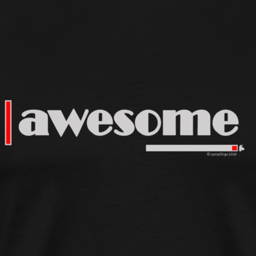 Awesome Red - Men's Premium T-Shirt