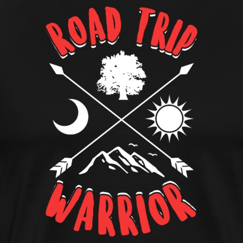 Road Trip Warrior - Roadtrip-Krieger - Männer Premium T-Shirt