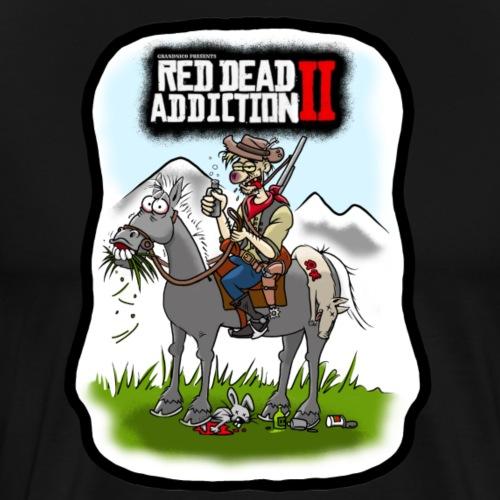 Red dead addiction - T-shirt Premium Homme