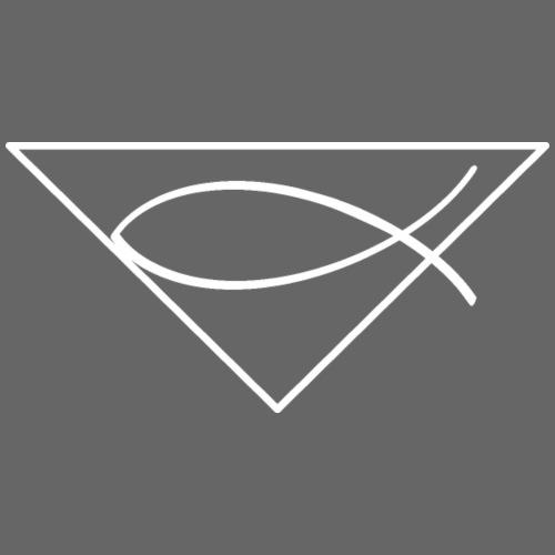Christliches Symbol Ichtys Fisch 2 - Männer Premium T-Shirt