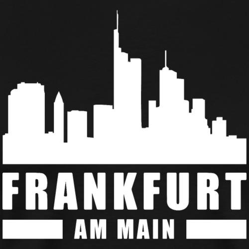 Frankfurt Skyline Hessen FFM 069 Frankfurt Liebe - Männer Premium T-Shirt
