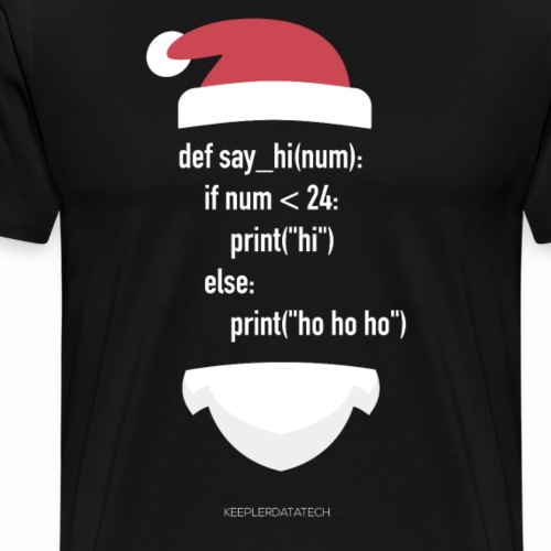 Keepler xmas edition 2 - Camiseta premium hombre