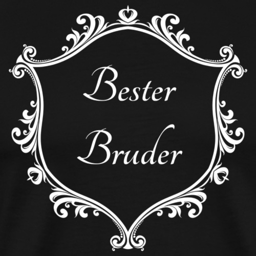 Bester Bruder - Männer Premium T-Shirt