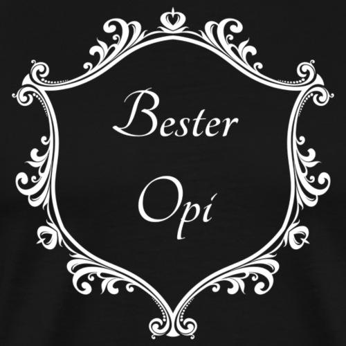 Bester Opi - Männer Premium T-Shirt
