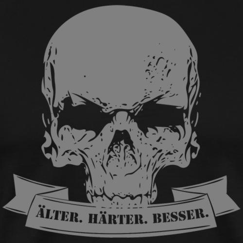 Älter.Härter.Besser. Grey - Männer Premium T-Shirt
