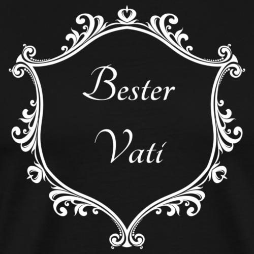 Bester Vati - Männer Premium T-Shirt