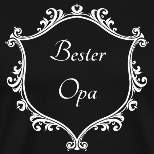 Bester Opa - Männer Premium T-Shirt