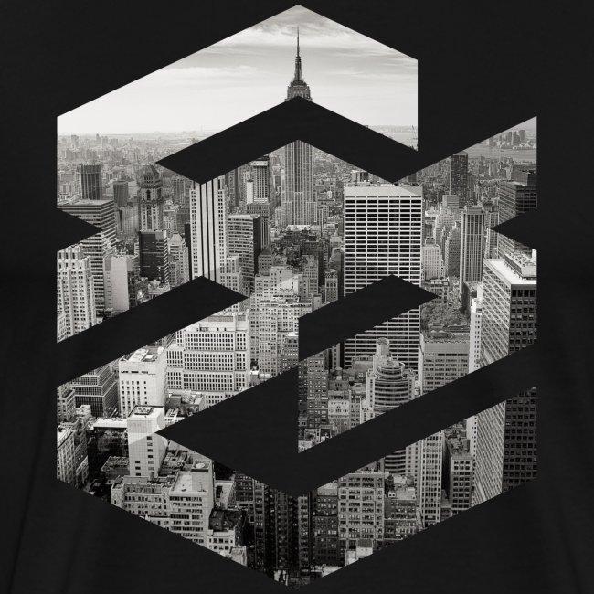 NewYork Manhatten EmpireState Geometische Form