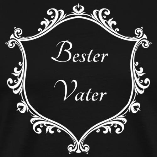 Bester Vater - Männer Premium T-Shirt