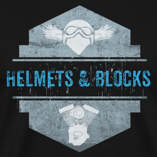 Helmets & Blocks - Männer Premium T-Shirt