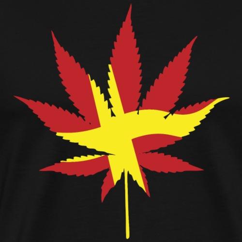 Bara flaggan - Premium-T-shirt herr