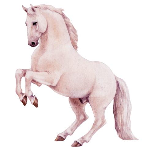 White stallion - Männer Premium T-Shirt