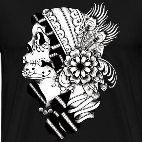 Gypsy Traditional BW - Männer Premium T-Shirt