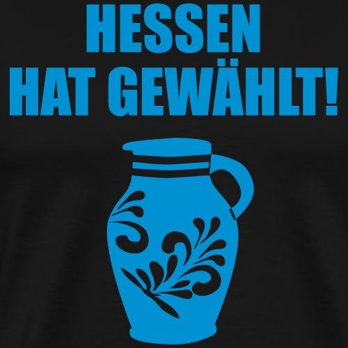 Hessenwahl Bembel - Männer Premium T-Shirt