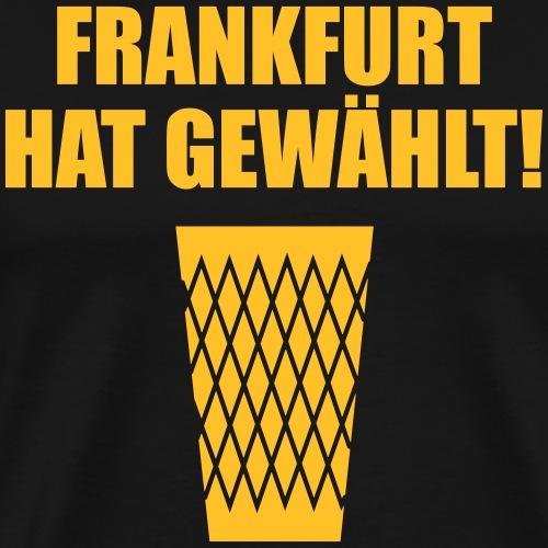 Frankfurt Wahl - Männer Premium T-Shirt